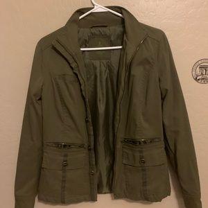 PrAna camo green outdoors jacket